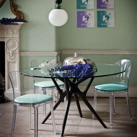 Elegant modern dining room | Dining room ideas | Dining room decorating | Livingetc | IMAGE | Housetohome.co.uk