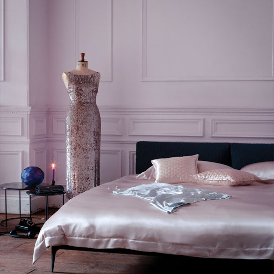 Glamorous pink bedroom | Bedroom | Bedroom decorating ideas | Livingetc | IMAGE | Housetohome.co.uk