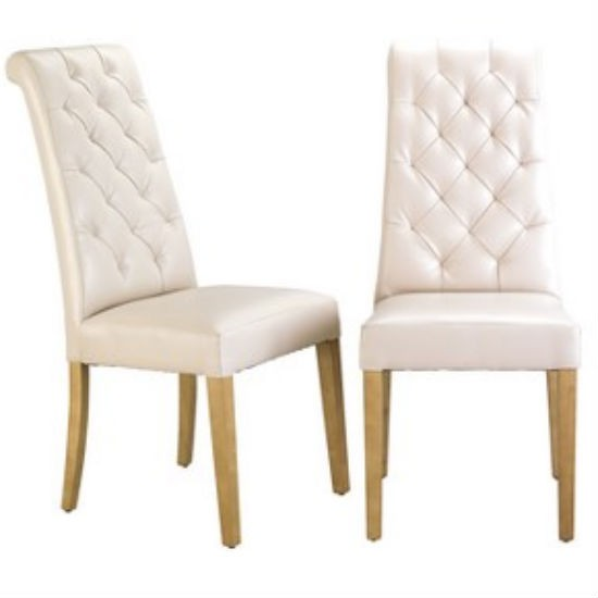 Sheraton quilted dining chair from Littlewoods