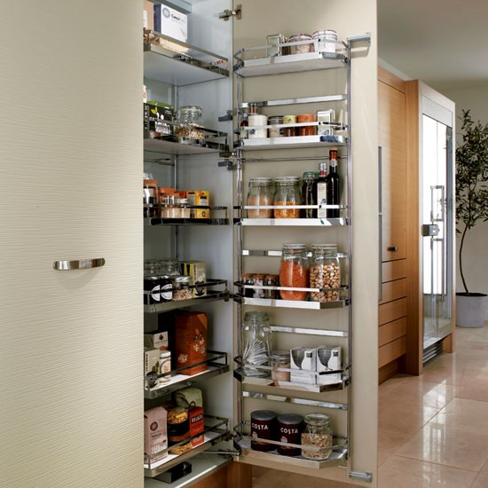 Pull-out larder from Metris | Kitchen storage - 10 of the best | Kitchen planning | PHOTO GALLERY | Beautiful Kitchens