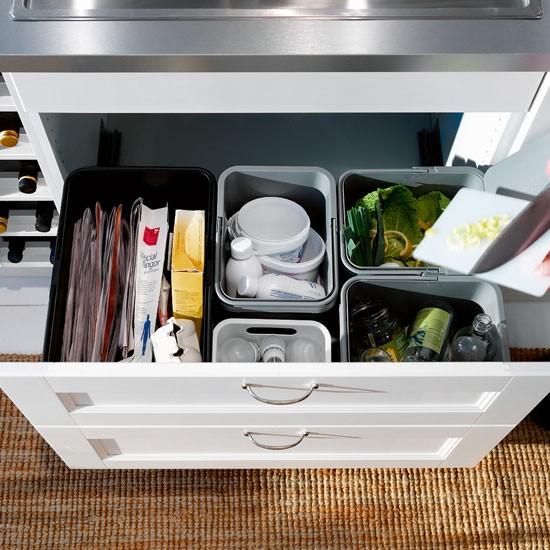 Bidoni raccolta differenziata brico installazione for Ikea bidoni