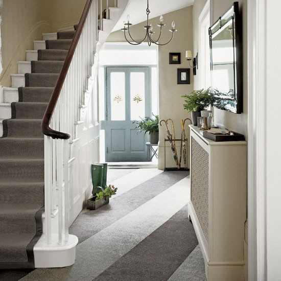 Classic entrance hall with statement floor | Hallway | Housetohome | Statement floor | Decorating Ideas | PHOTOGALLERY