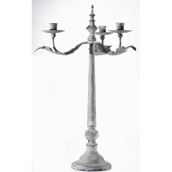 Metal candlestick from Summerill & Bishop | candelabra | country | Country Homes & Interiors