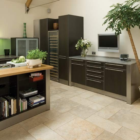 Contemporary Kitchen Flooring: Take A Look Around This Contemporary
