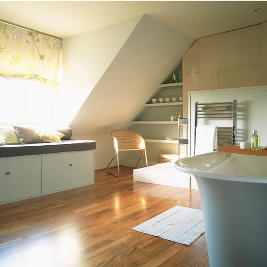 Spacious bathroom loft bedrooms 10 of the best for Attic bathroom design ideas