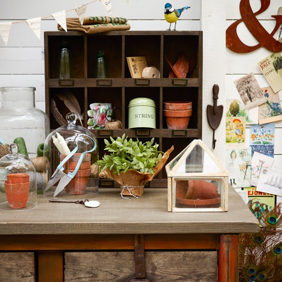 Utility potting table | utility room | country | Country Homes & Interiors