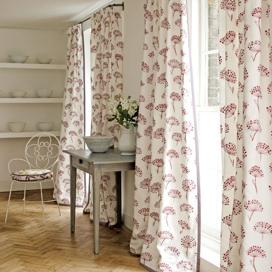 Curtains for floor to ceiling windows | curtains | country | Country Homes & Interiors