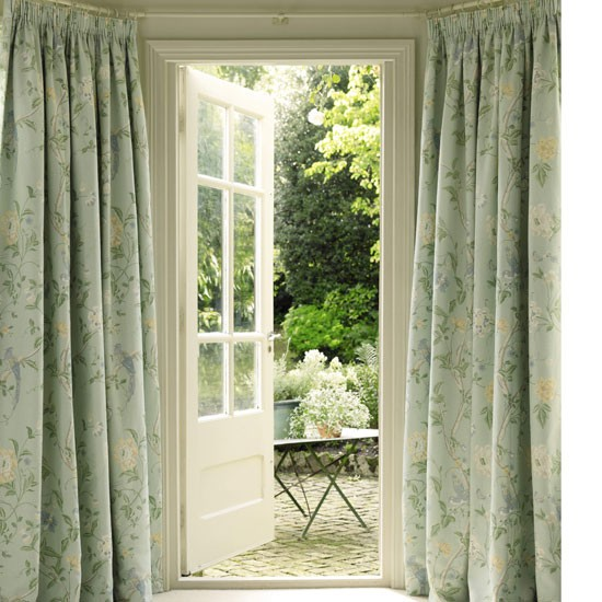 Decorate a bay window | curtains | country | Country Homes & Interiors