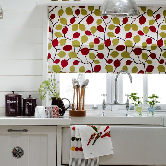 Choose A Bold Kitchen Blind