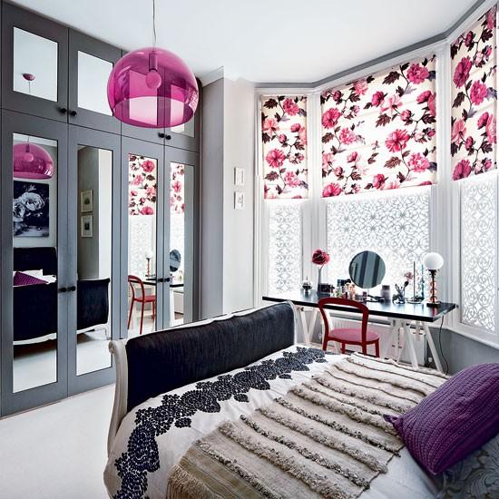 Modern floral bedroom | Bedroom decorating ideas | Bedroom | Livingetc | IMAGE | Housetohome.co.uk