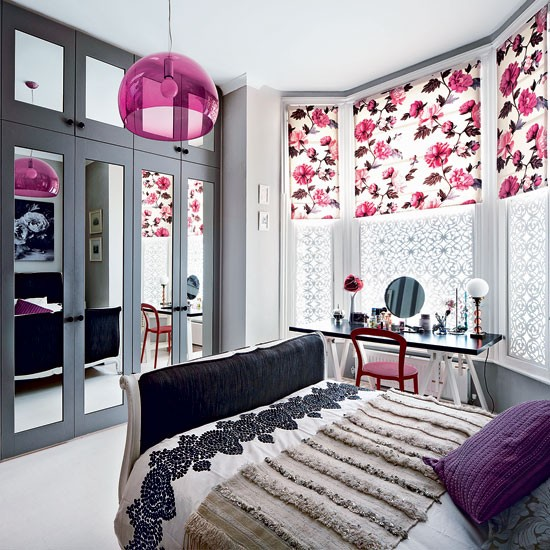 Modern floral bedroom bedroom decorating ideas bedroom livingetc