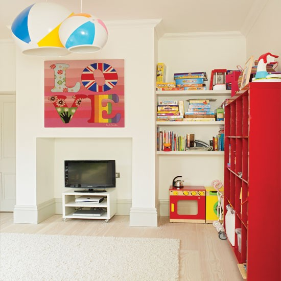 Colourful Child 39 S Playroom Playroom Decorating Ideas Childrens Room