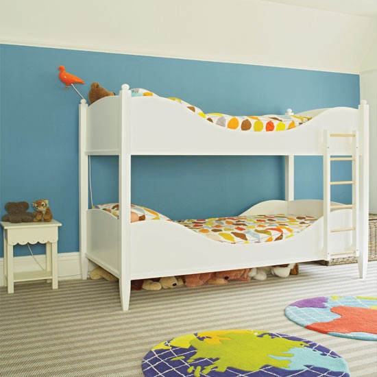 Modern blue child 39 s bedroom childrens room decorating ideas childrens room - Childrens bedroom decorating ideas ...