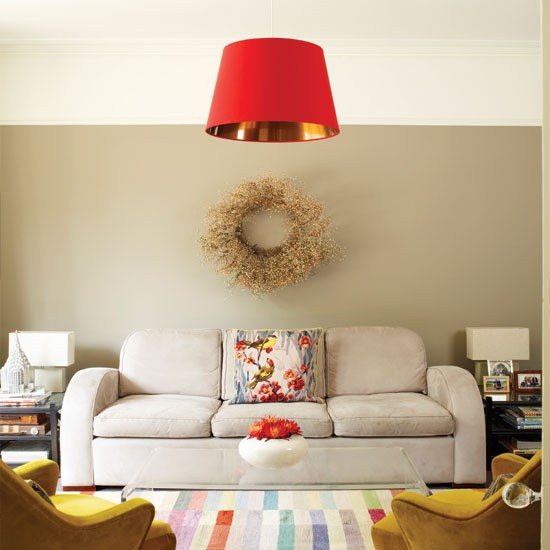 Vintage-inspired living room | Living room decorating ideas | Living room | Homes & Gardens | IMAGE | Housetohome.co.uk