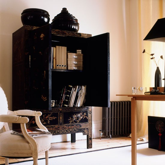 Home office design ideas home office pictures for Elegant home office decorating ideas