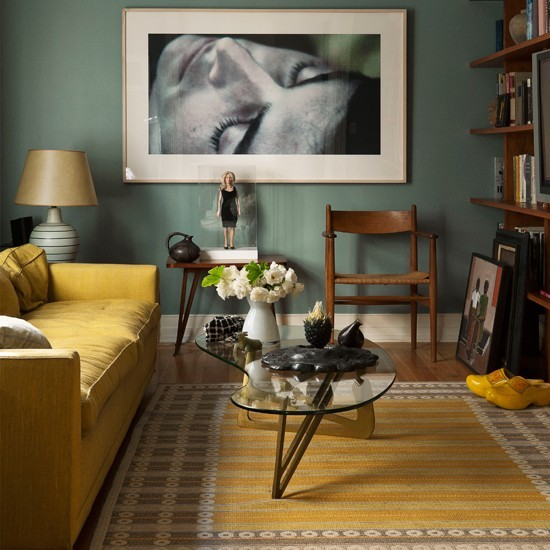 Top Yellow and Teal Living Room Idea 550 x 550 · 79 kB · jpeg