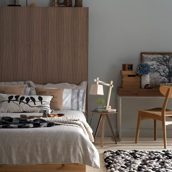 Neutral chic bedroom | Bedroom decorating ideas | Bedroom | Ideal Home | IMAGE | Housetohome.co.uk