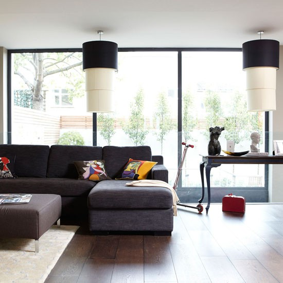 Light Filled Contemporary Living Rooms: Living Room Decorating Ideas