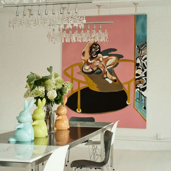Contemporary dining room | Dining room decorating ideas | Dining room | Livingetc | IMAGE | Housetohome.co.uk