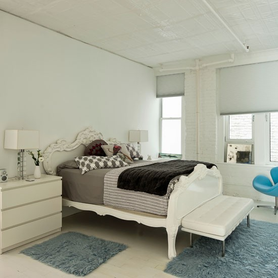 Modern white bedroom | Bedroom decorating ideas | Bedroom | Livingetc | IMAGE | Housetohome.co.uk