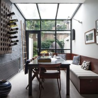 Industrial-style conservatory