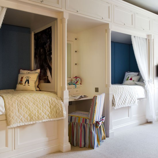Space-saving bedroom | Fitted beds | Children's bedrooms | boys' bedrooms | Bedroom | Bedroom Furniture | PHOTO GALLERY | 25 Beautiful Homes | Housetohome