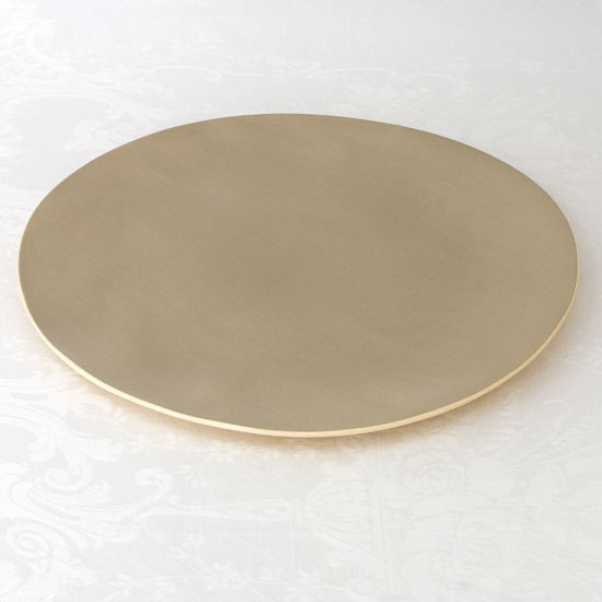 Handmade taupe dinner plate from Brickett Davda | Ceramics | Tableware ...