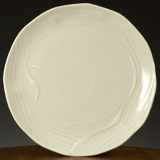 Large Sculpted Plate From Joanna Howells Ceramic Plates