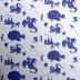 'Ere Be Dragons blue wallpaper from PaperBoy Wallpaper | Children's bedroom wallpapers - 10 of the best | Children's room ideas | PHOTO GALLERY | Housetohome.co.uk