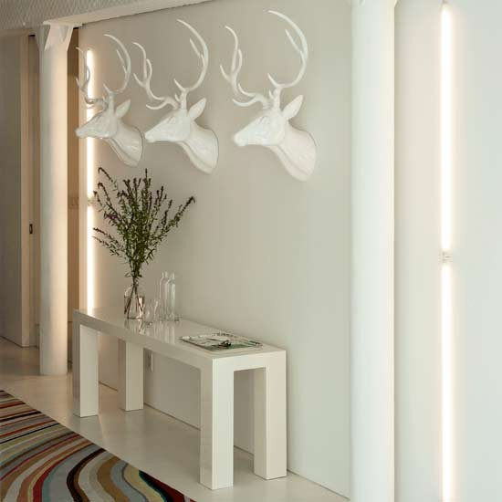 Minimalist hallway | Hallways | Modern designs | Decorating ideas | PHOTO GALLERY | Housetohome.co.uk