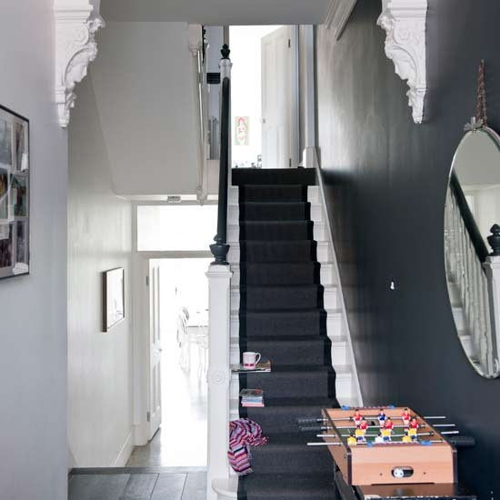 Dark hallway | Modern hallways - 10 of the best | housetohome.
