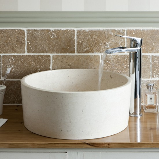 Stone Basin Bathroom : stone basin Bathroom period-style modern country bathroom ...