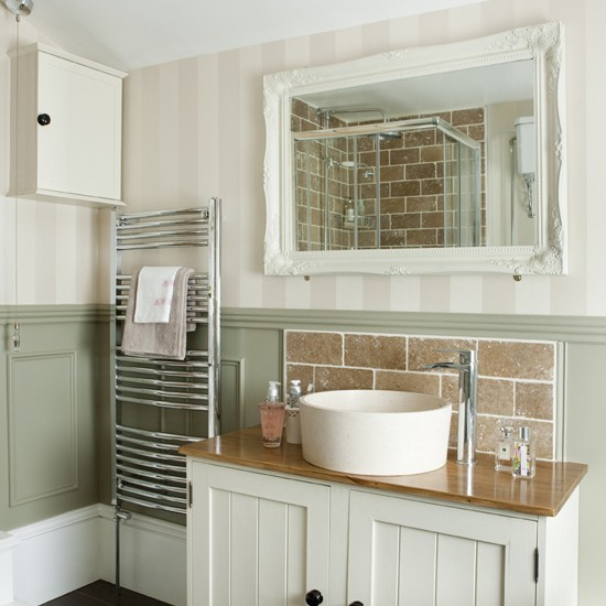 Basin Unit Bathroom Period Style Modern Country Bathroom