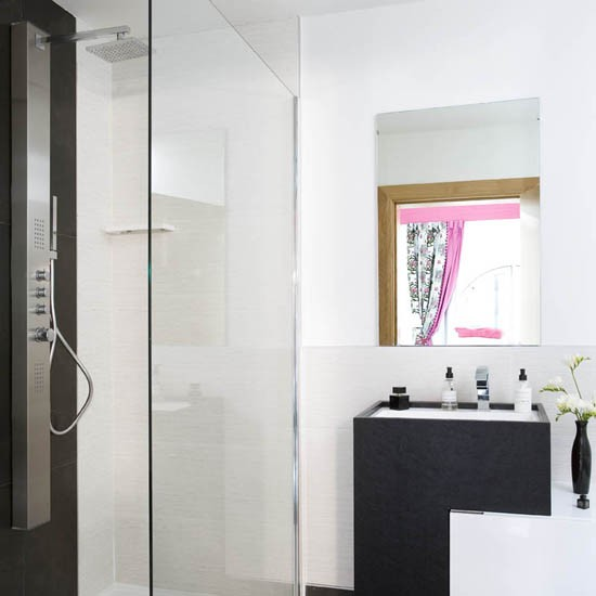 shower | converted mill | makeover | contemporary | interiors | statement furniture | PHOTO GALLERY | Ideal Home