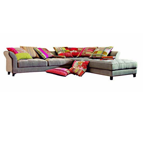 Verdana sofa from Roche Bobois | Corner sofas | Living room furniture | PHOTO GALLERY | 25 Beautiful Homes | Housetohome