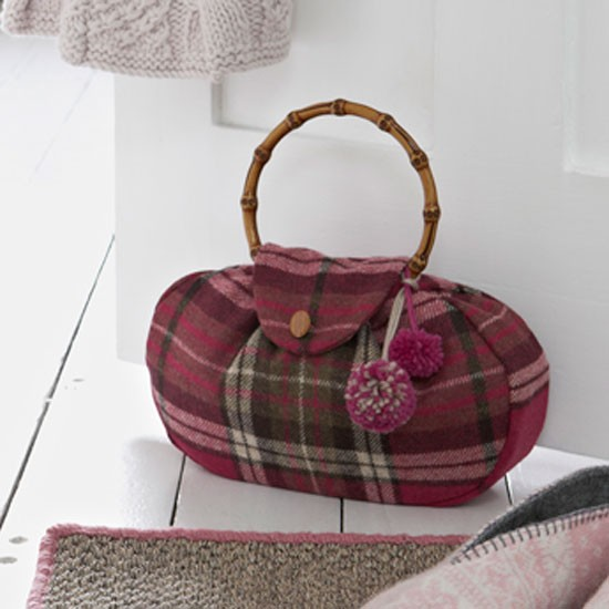 How To Sew A Handbag Style Doorstop