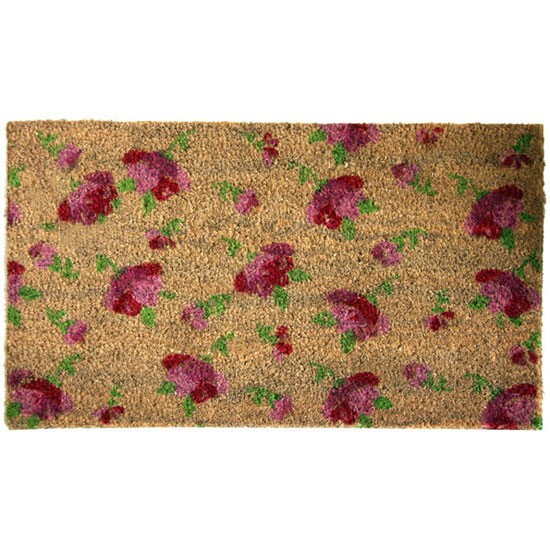 Floral Doormat 28 Images Entryways Scalloped Floral