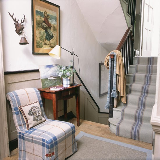 New Home Design Ideas Theme Inspiration 10 Hallway: Country Hallway Pictures