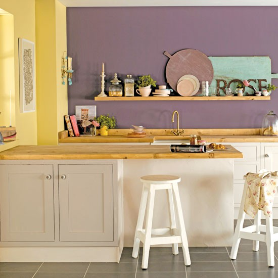 opt for contrasting paint colours decorate with paint