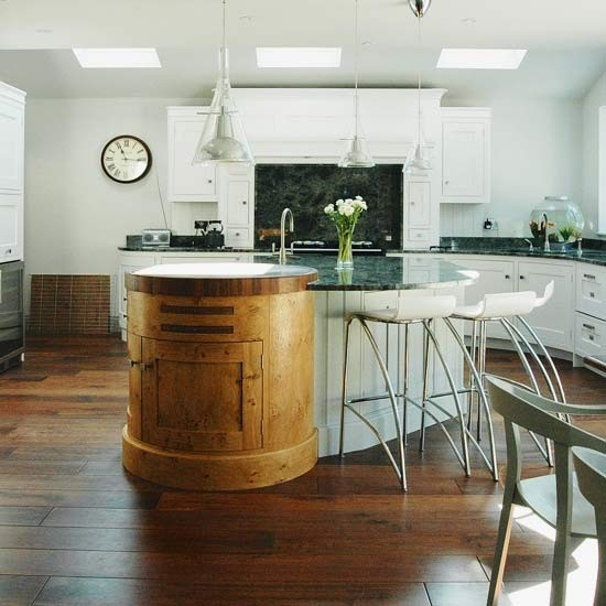 Mixed materials  Kitchen island ideas  housetohome.co.uk