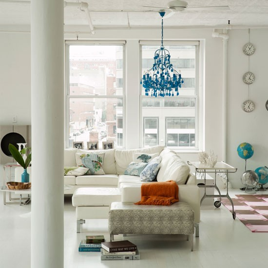 Living room | Take a look around a light, bright New York loft | House tour | Livingetc | PHOTO GALLERY