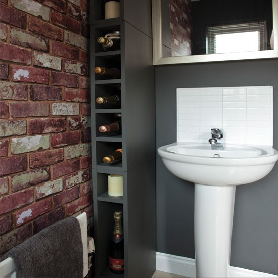 Original Brick Wall Tiles Are Traditional Decorating Ideas For Kitchen And Modern Bathroom Interiors Brick Wall Tiles Will Match Your Existing Fixtures And Fittings In Your Kitchen, Creating A Traditional Look With Modern Flavor Bathroom Decorating Ideas