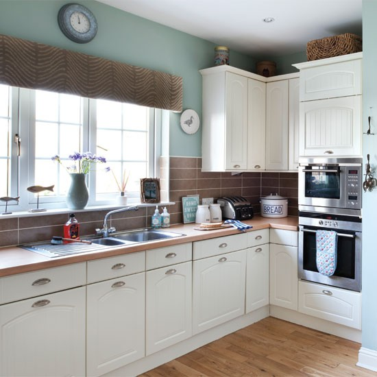 Relaxed Nautical Style Kitchen Kitchen Housetohome Co Uk