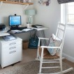 New England-style home office 