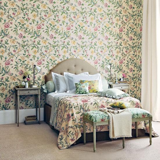 Tartan Bedroom Accessories Bedroom Vintage Decorating Ideas Bedroom Curtains Inspiration Bedroom Furniture Latest Designs: Floral Pattern Bedroom