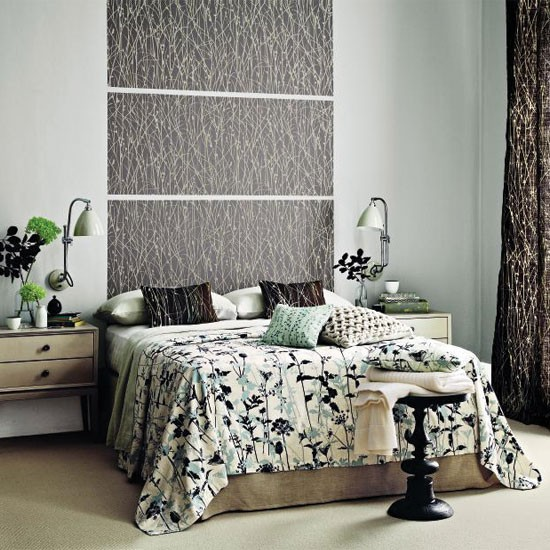 Nature-inspired bedroom | Bedroom decorating ideas | Bedroom | Homes & Gardens | IMAGE | Housetohome.co.uk
