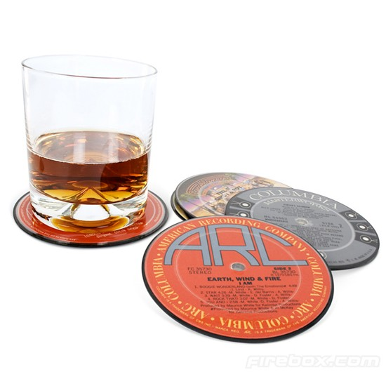 Vinyl Coasters from Firebox | Valentine's Day gifts for him | PHOTO ...