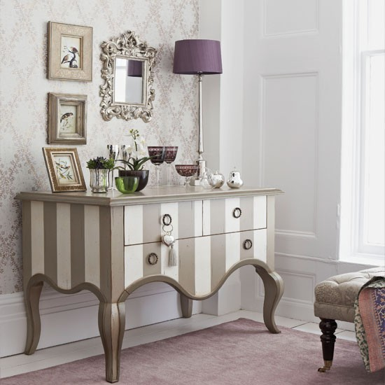 glamorous bedroom with bespoke dresser bedroom