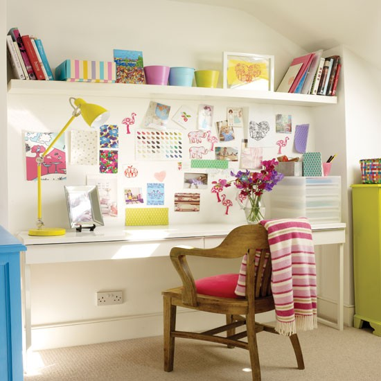 Colourful Home Office Home Office Ideas