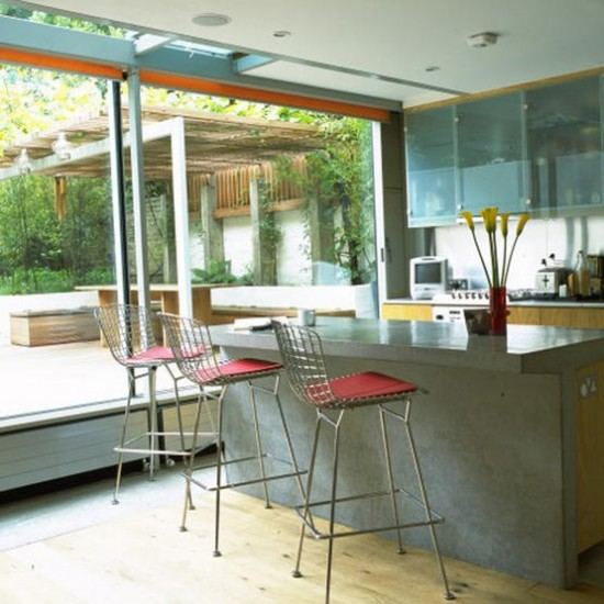 Industrial style kitchen modern kitchen extensions our for Modern kitchen ideas uk